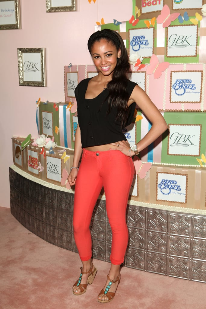 Vanessa Morgan's Pushed-Back Waves in 2012
