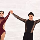 Tessa Virtue's 2018 Olympics Free Dance Dress