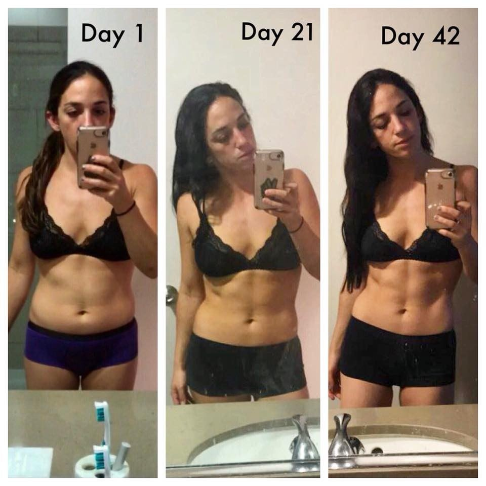 strength training for women before and after www