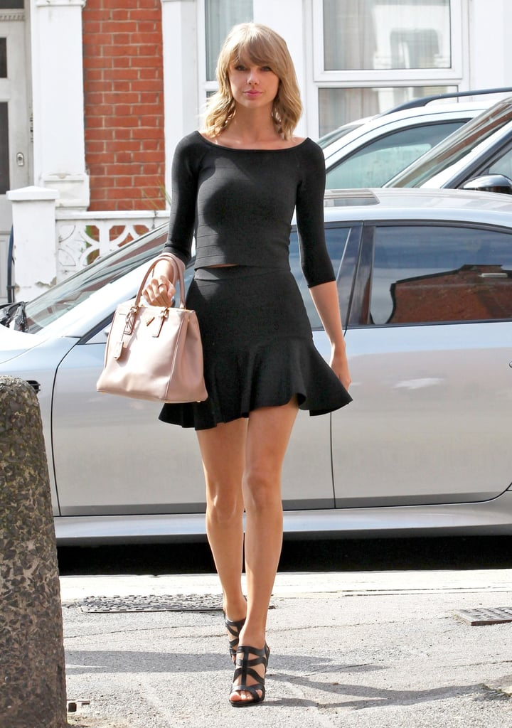 Taylor Swift took a picture-perfect walk around London on Wednesday.