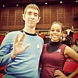 Star Trek Spock and Uhura