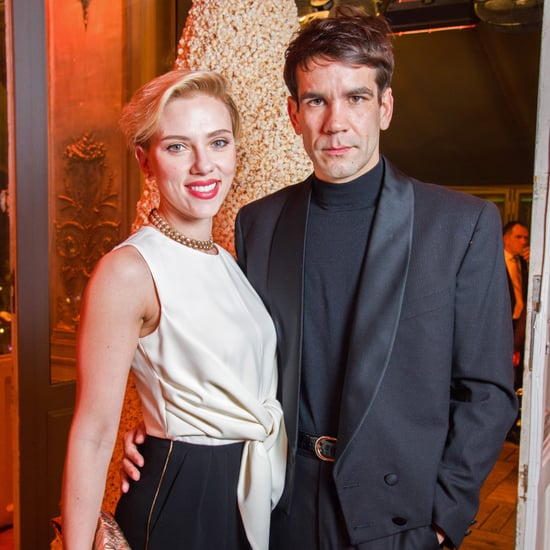 Scarlett Johansson and Husband Romain Dauriac in Paris 2016