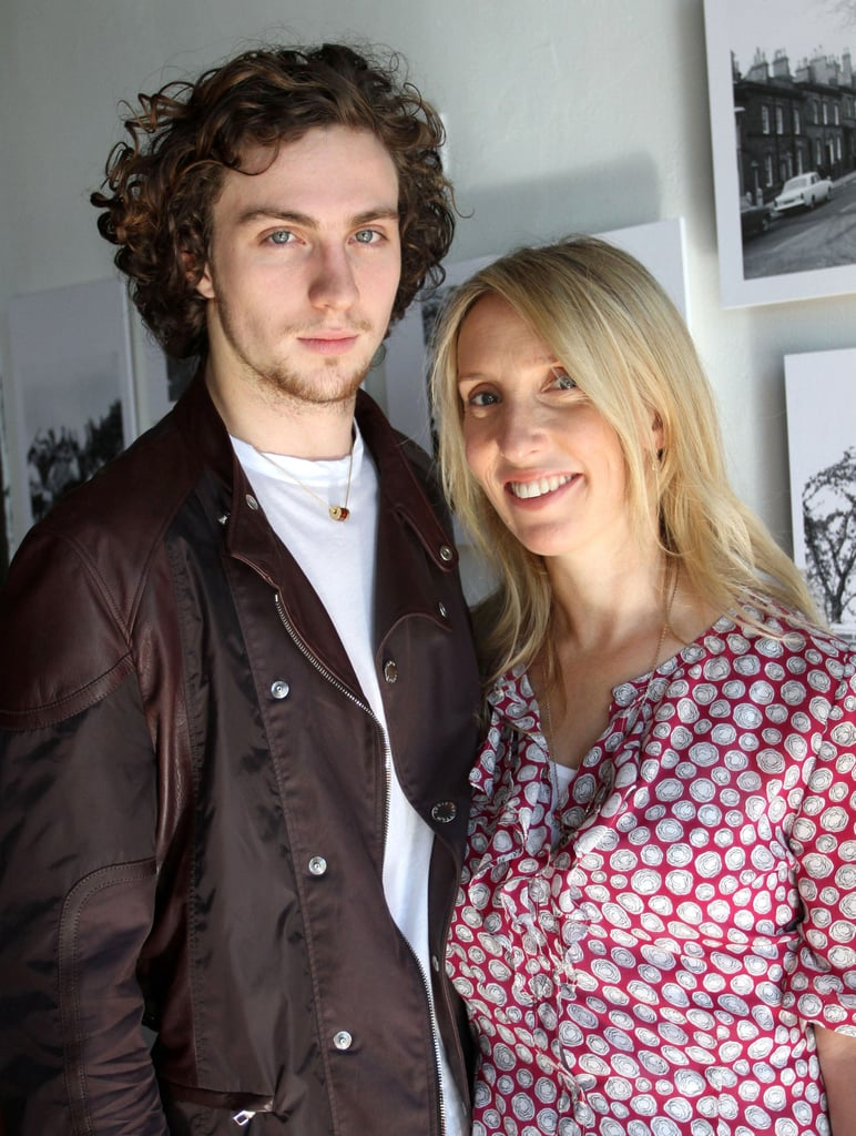 PIctures of Aaron Johnson and Sam Taylor-Wood