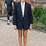 Rashida Jones looked adorable at the Rachel Comey presentation on Wednesday.