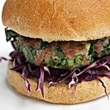 Turkey Spinach Burger