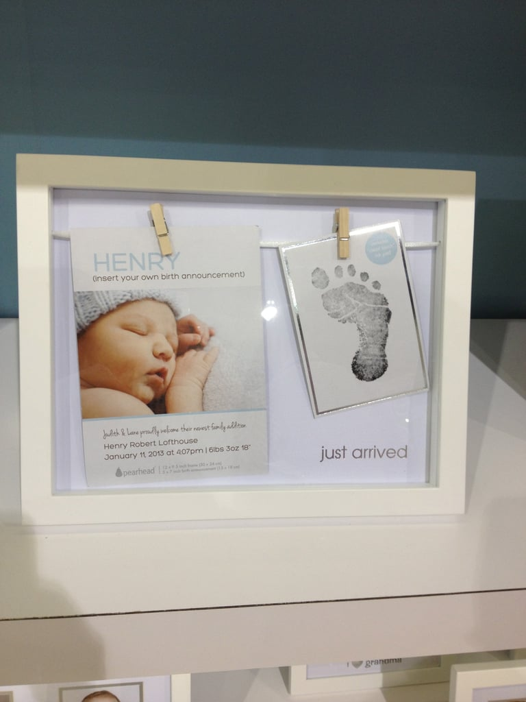 Pearhead is introducing the cutest birth announcement frame for your ...