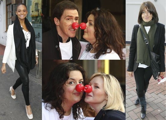 Photos From Comic Relief 2009 Launch, Including Rob Brydon and Ruth Jones Who Are Recording This Year's Charity Single