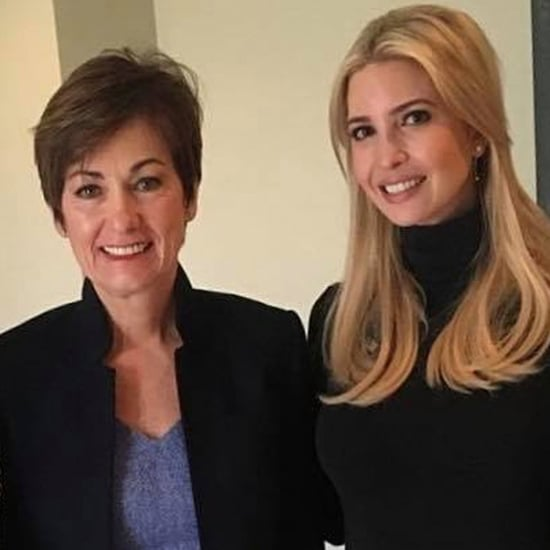 Ivanka Trump Visits an Iowa Hair Salon