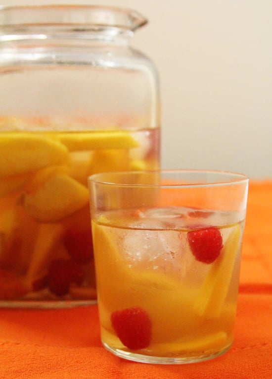 Mango-Raspberry White Wine Sangria