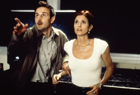 David and Courteney Cox, Scream