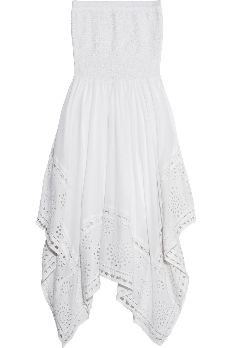 Michael Michael Kors White Strapless Dress