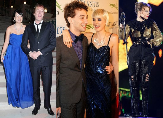 Photos of Lily Allen, Rhys Ifans, Agyness Deyn and Kylie Minogue at Atlantis Palm Resort Grand Opening in Dubai