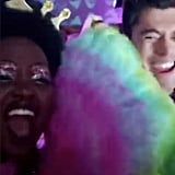 Lupita Nyong'o and Henry Golding Jammed to Cher's Music