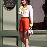 2008, On the Set of Gossip Girl