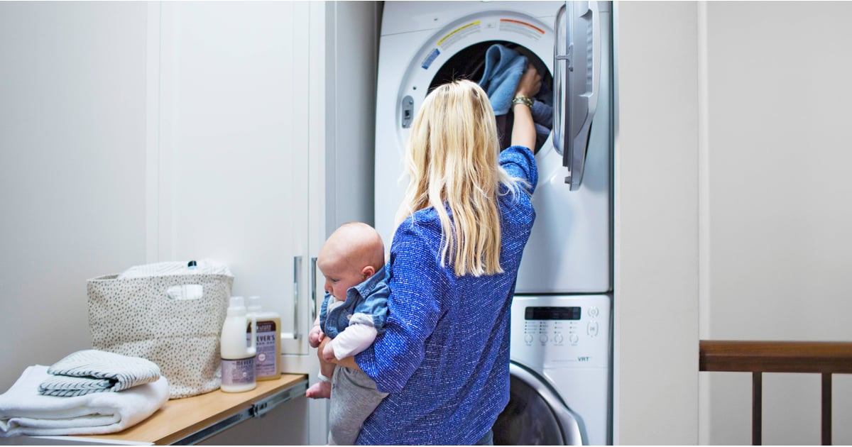 Laundry tips for large families popsugar moms for Large family laundry