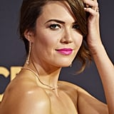 Mandy Moore's Beauty Look at the 2017 Emmys