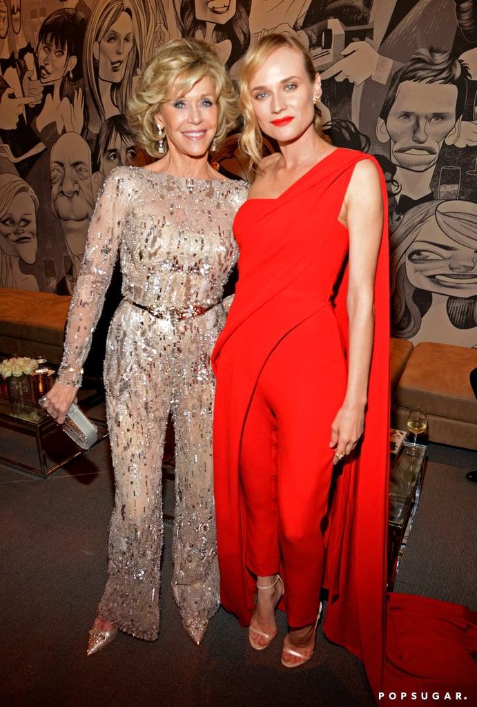 Jane Fonda and Diane Kruger