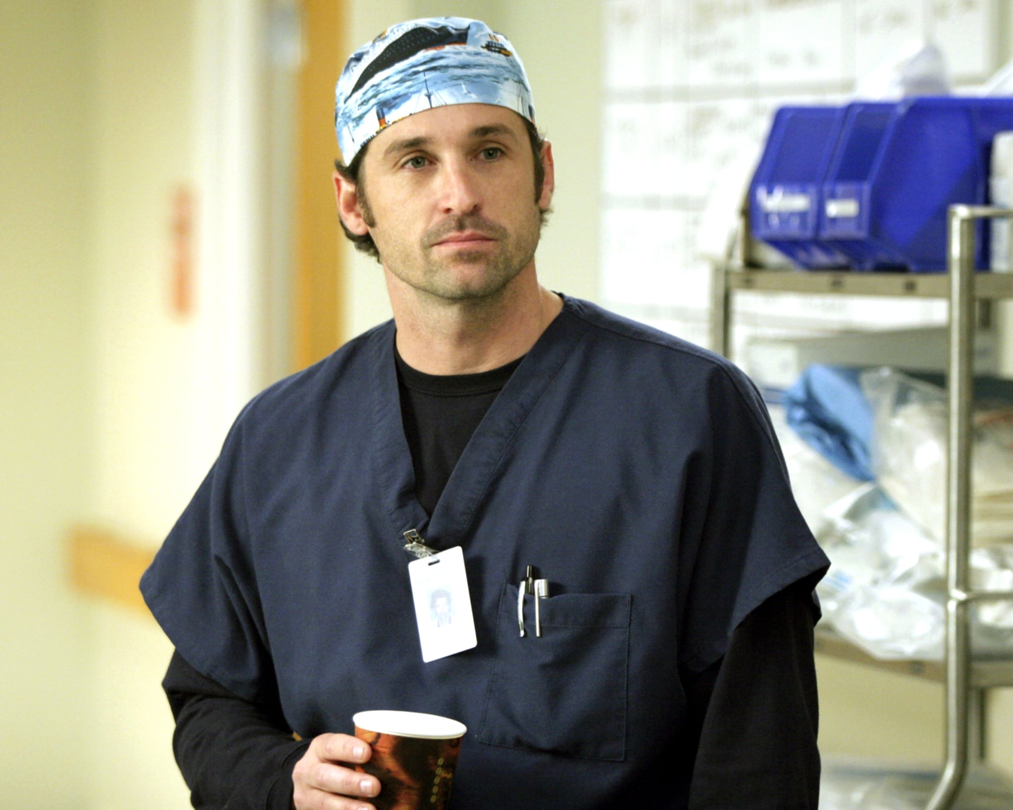 GREY'S ANATOMY, Patrick Dempsey, 'If Tomorrow Never Comes', (Season 1, ep. 106), 2005-, photo: Scott Garfield /  ABC / Courtesy: Everett Collection