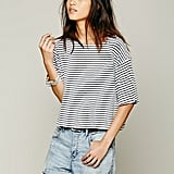 We the Free Stripe Crop Top