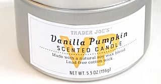 Trader Joe's New Vanilla Pumpkin Candle Smells Like Heaven (and Is Only $4!)