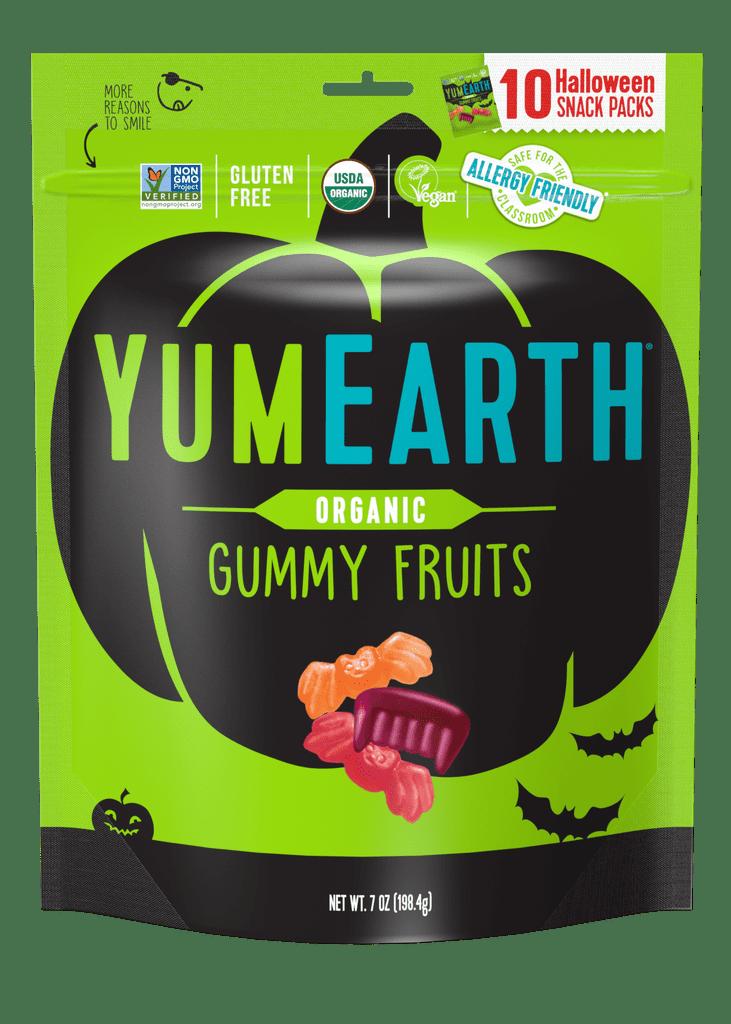 YumEarth Organic Halloween Gummy Fruits