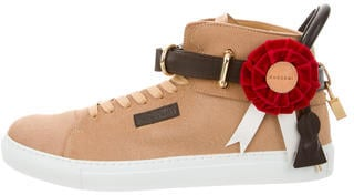 Buscemi's 100MM Ponyhair Sneakers w/ Tags ($995) actually look like a horse that just won first place.