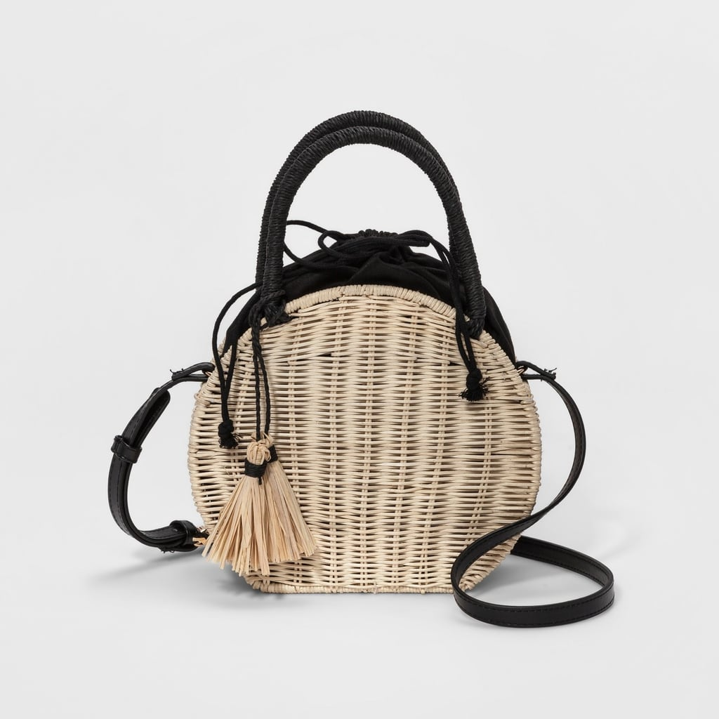 c0beb03c3f Straw Circle Crossbody Bag — A New Day™