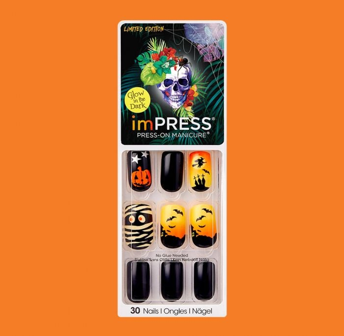 imPRESS Press-on Manicure in Medium in Devilish