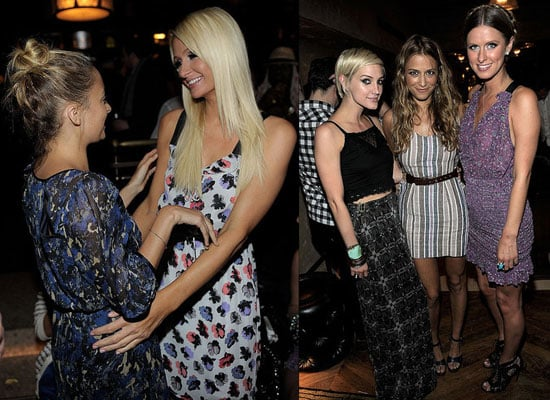 Pictures of Nicole Richie, Ashlee Simpson, Paris Hilton, Nicki Hilton and Charlotte Ronson at I Heart Ronson for JC Penny launch