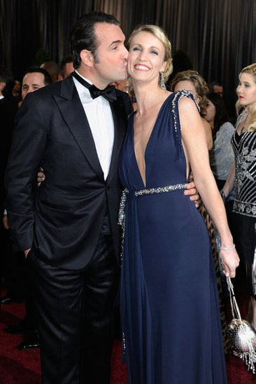 Jean dujardin and alexandra lamy oscar couples shine at for 99 f dujardin
