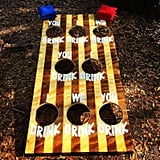 Drink-Up Bean Bag Toss Game