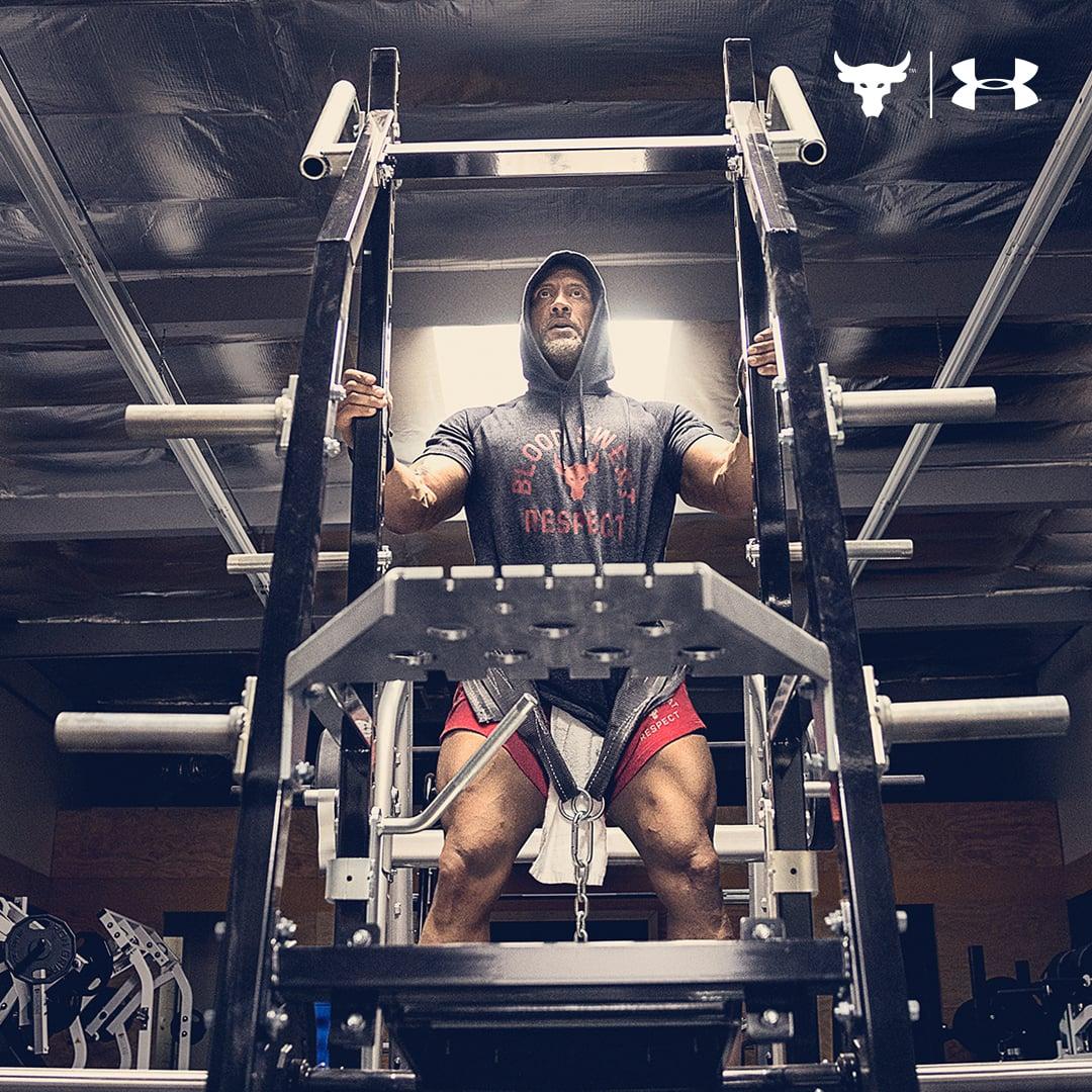 Dwayne the Rock' Johnson's intense workout playlist