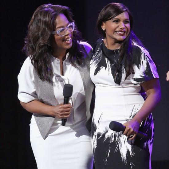 Oprah's Baby Gift to Mindy Kaling 2018