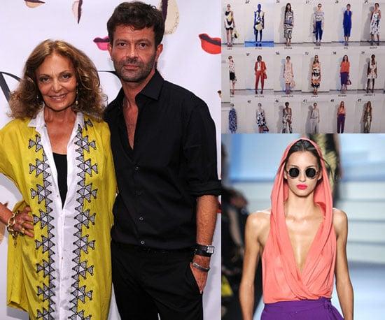Diane von Furstenberg Interview at New York Fashion Week Spring 2011