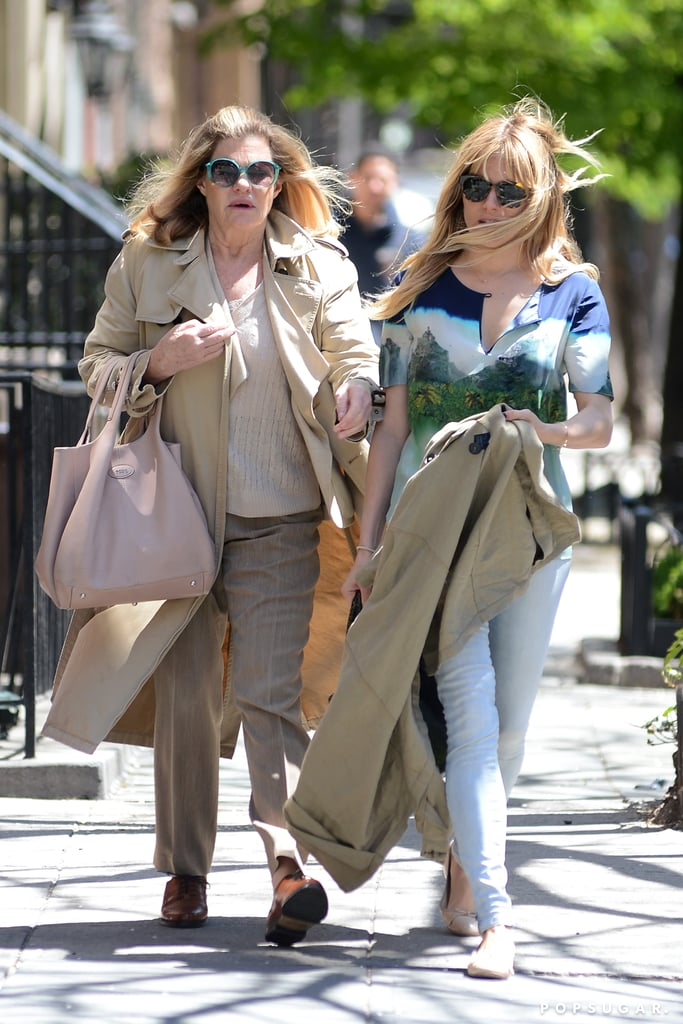 Sienna Miller was accompanied by her mom, Josephine, for lunch in NYC.
