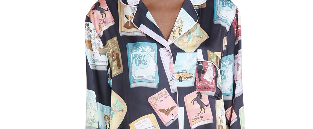 These Book Cover Pajamas Are Covered in Classic Novels