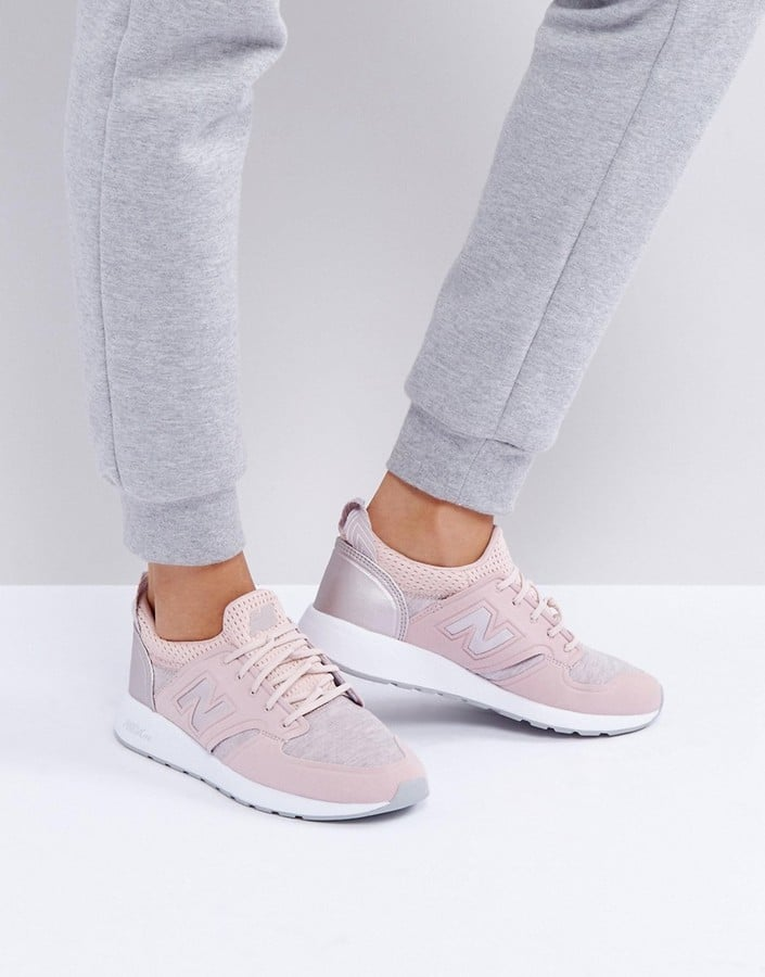 New Balance 420 Trainers With Rose Gold