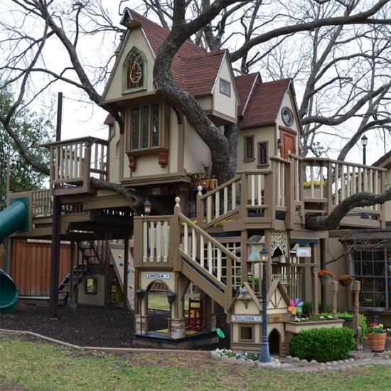 Awesome Tree Houses: Grandparents Build Amazing Treehouse