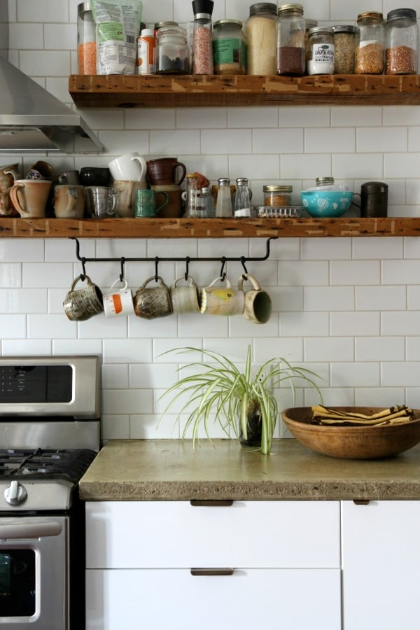 Using Too Much Open Shelving How To Decorate A Small