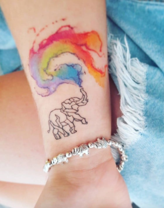 Rainbow Tattoo Ideas | POPSUGAR Beauty Australia