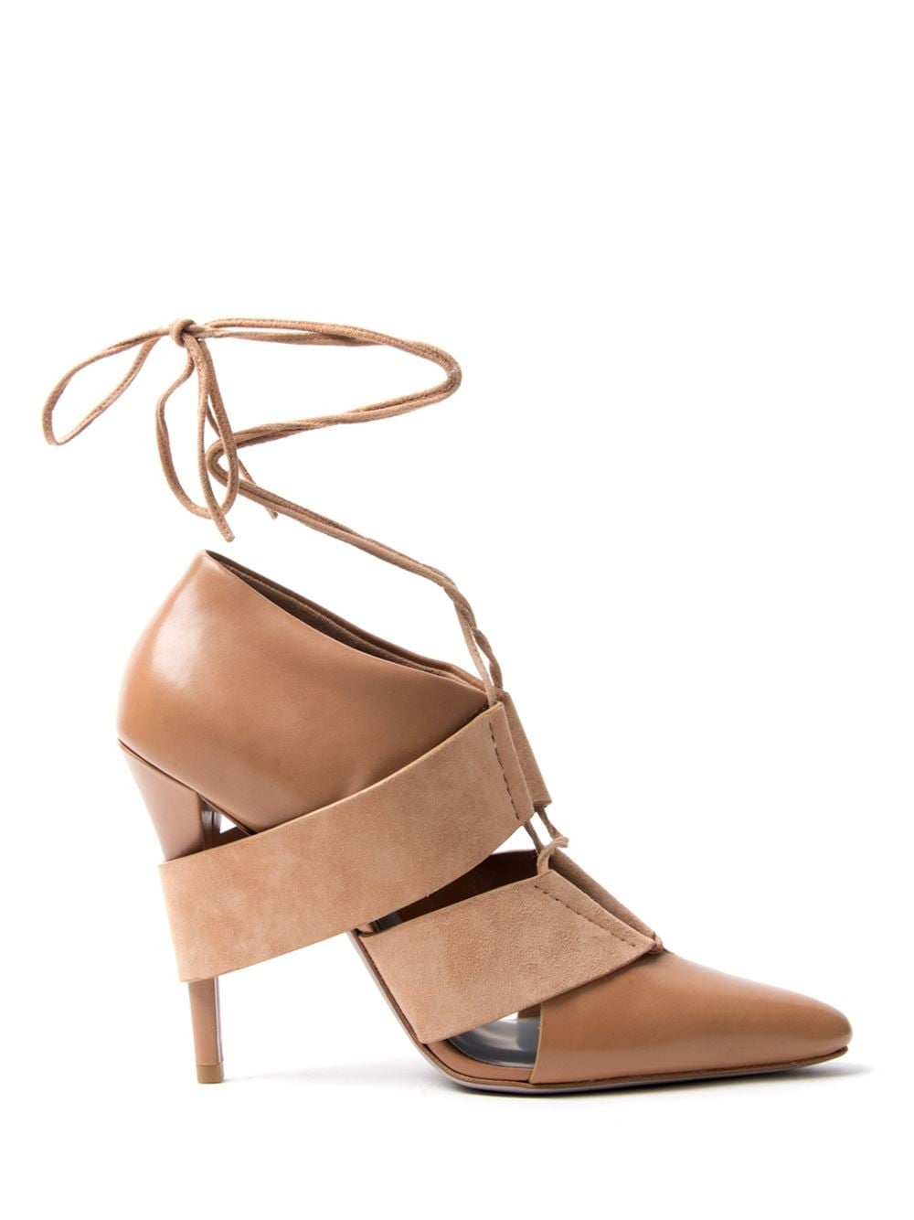Breathable Closed-Toe Heels