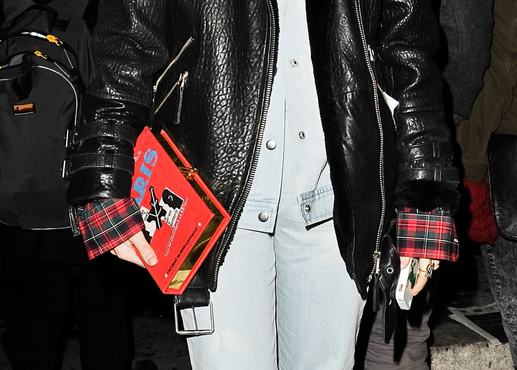 Book or clutch? This cheeky Olympia Le Tan number is a surefire statement piece.