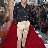 Chris Pine Wearing High-Waisted Pants on the Red Carpet 2016