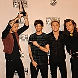 One Direction at the American Music Awards in 2015