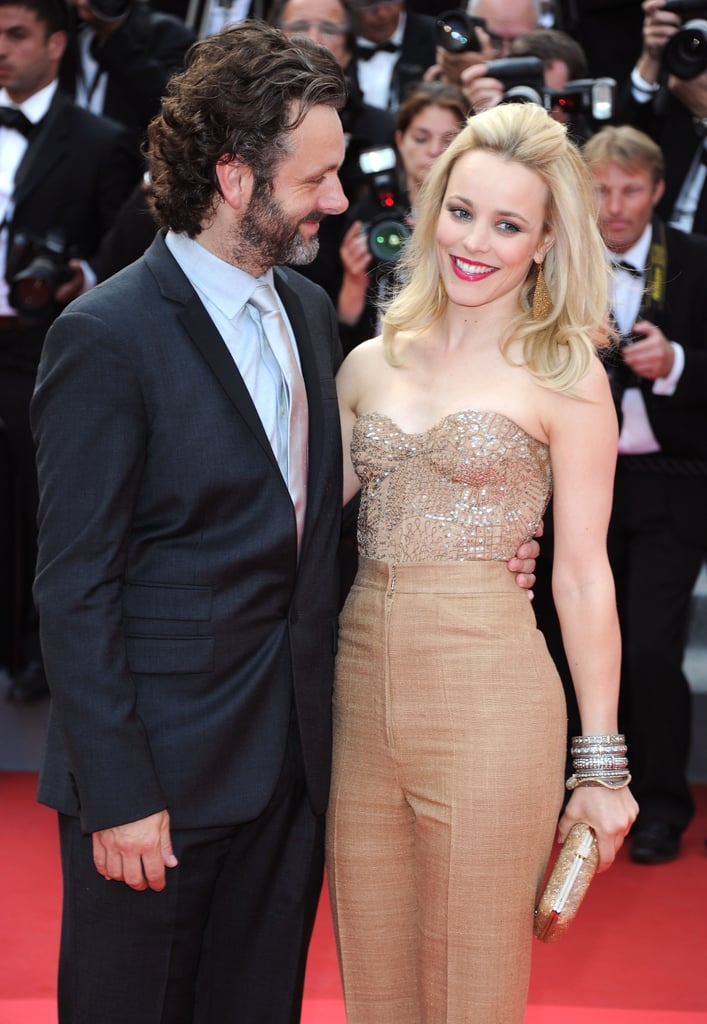 Rachel posed alongside new love Michael Sheen at the Cannes Film Festival premiere of Sleeping Beauty in 2011.