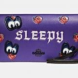 Disney x Coach Sleepy Foldover Crossbody Clutch