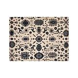 Get the Look: Juno Blue Patterned Wool Rug