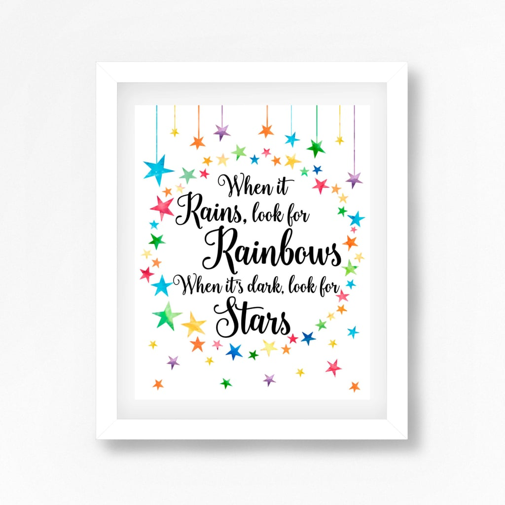 Rainbow Baby Sign