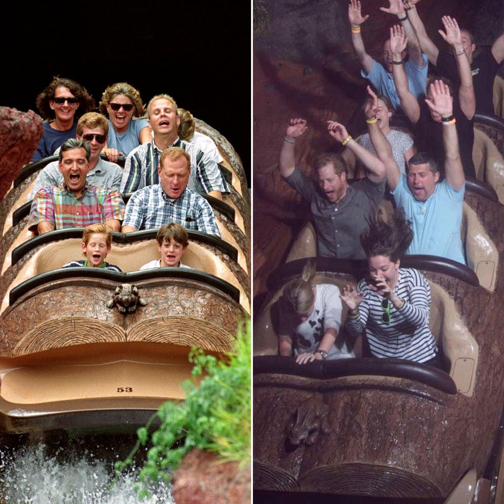 Celebrity splash mountain pictures