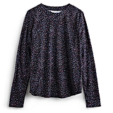 Sprinkle Dots Print Long-Sleeved Tee